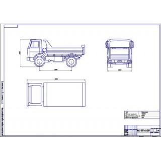 МАЗ-5551 А2-220 общий вид