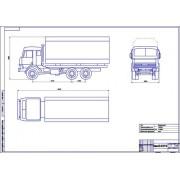 КамАЗ-53215 общий вид
