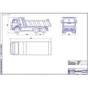 КамАЗ-6520-022 общий вид