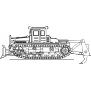 Бульдозер ДЭТ-250М