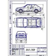 ВАЗ-2108 общий вид