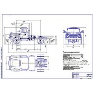 ЗиЛ-130 общий вид