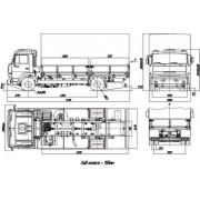 КамАЗ-4308 общий вид