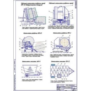 Обзор измельчителей-раздатчиков кормов