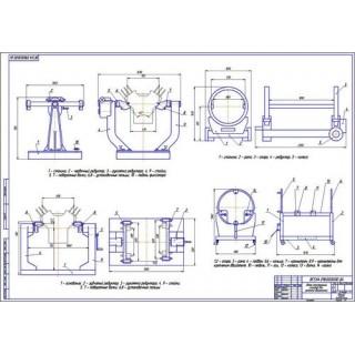 Обзор стендов для ремонта двигателей