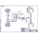 Схема тормозной системы ГАЗ-3110