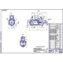 Стартер СТ-142Б для КамАЗ