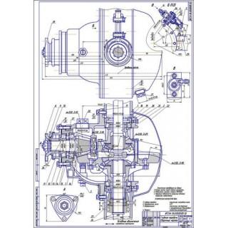 Межколёсный дифференциал ГАЗ-3307