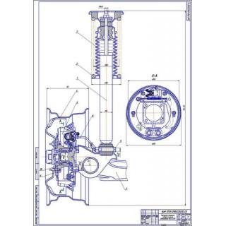 Тормозной механизм заднего колеса ВАЗ-2110