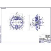 Задние тормозные механизмы ВАЗ-2111