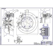 Передний тормозной механизм ВАЗ-2123