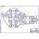 Главная передача и дифференциал ГАЗ-3110 (Волга)