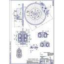 Передний тормозной механизм ГАЗ-3110 (Волга)