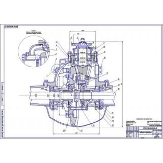 Главная передача и дифференциал ГАЗ-3307