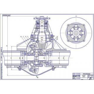 Главная передача и дифференциал ЗиЛ-5301
