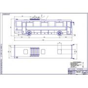 Автобус ЛиАЗ общий вид