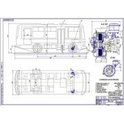 Автобус ПАЗ-3205 общий вид
