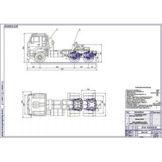 КамАЗ-65225 общий вид