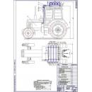 Трактор МТЗ-82 общий вид