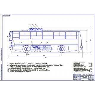 Автобус Скания 112 общий вид