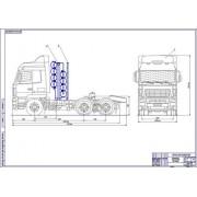 МАЗ-6430 общий вид