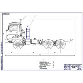 КамАЗ-53212 общий вид