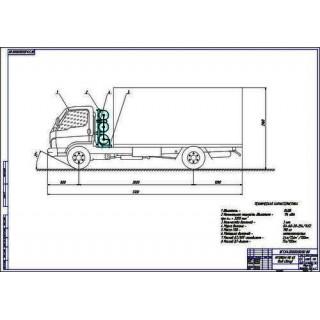 Hyundai HD 65 общий вид