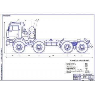 КамАЗ-6540 общий вид