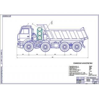 КамАЗ-65201 общий вид