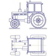 Трактор МТЗ-82.1 общий вид