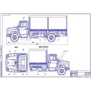 ГАЗ-3309 общий вид