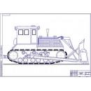 Трактор ДЗ-35 общий вид