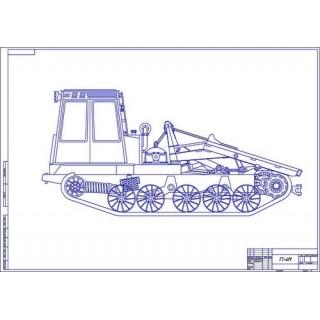 Трактор ТТ-4М общий вид